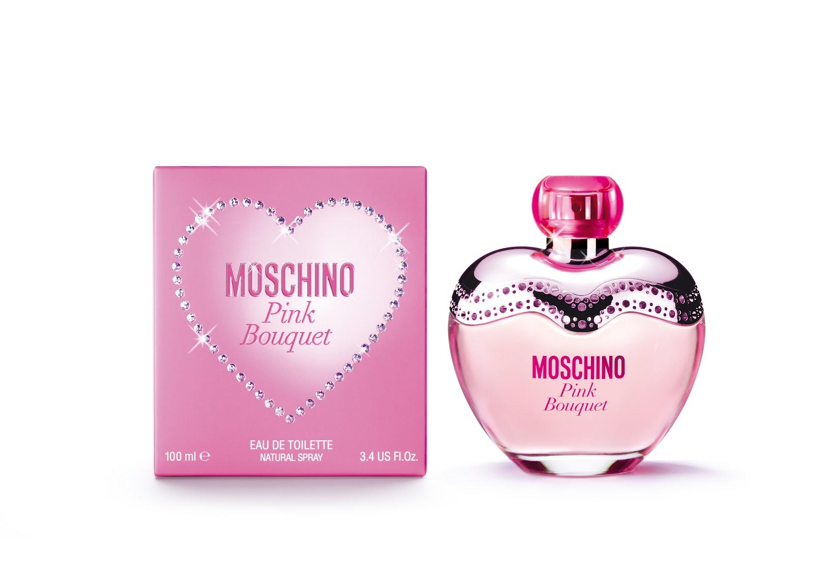 Moschino поднася на дамите Pink Bouquet