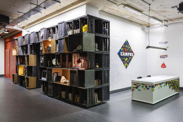 Новият офис на Google – отново събитие в дизайна