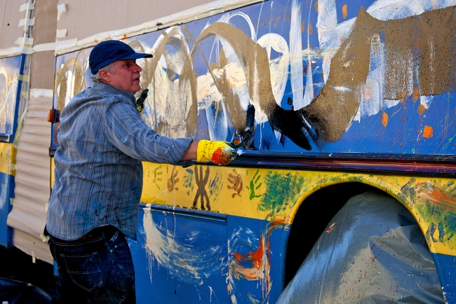 <!--:bg-->Ексцентрична творба по улиците на София<!--:--><!--:en-->An eccentric piece of art in the streets of Sofia<!--:-->