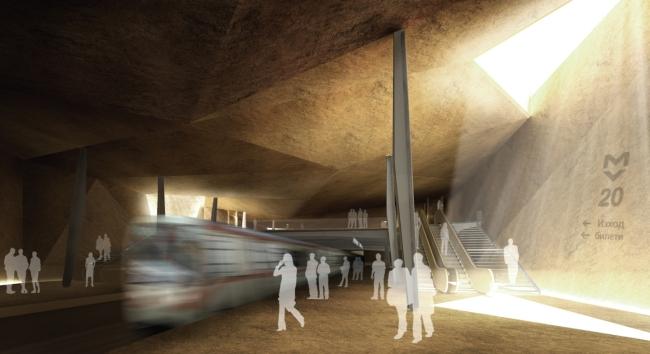 """Конкурсът за """"Архитектурен проект на Метростанция 20"""" приключи"""