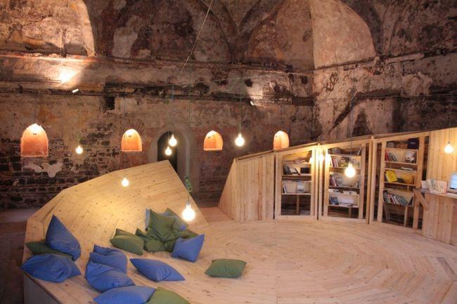 Библиотека в хамама