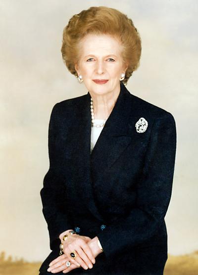 Спомен за Маргарет Тачър