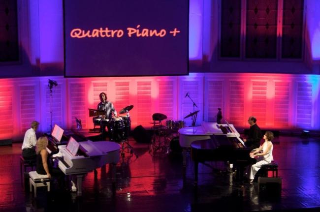 """Безплатна """"експлозия"""" на четири пиана по случай Световния ден без тютюнопушене"""