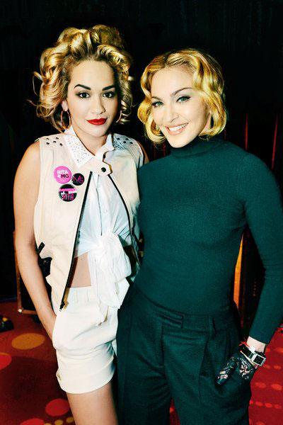 <!--:bg-->Мадона си избра Рита Ора<!--:-->