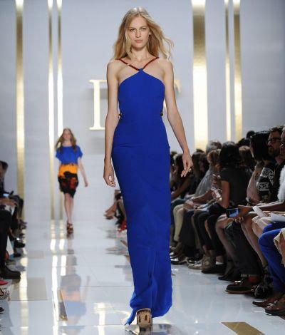 <!--:bg-->INSIDE TREND: Дълга синя рокля<!--:-->