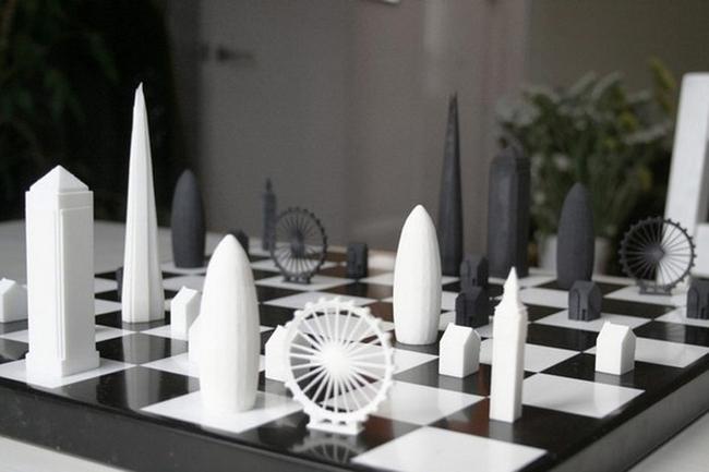 Лондон на шахматната дъска