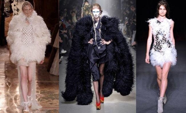 <!--:bg-->Изобилие от пера в есенния полет на модата<!--:-->