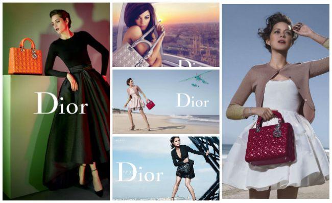 <!--:bg-->Цветна експлозия от Марион Котияр и Dior<!--:-->