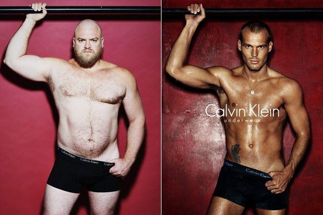 Открийте разликите: мъже срещу фотошоп