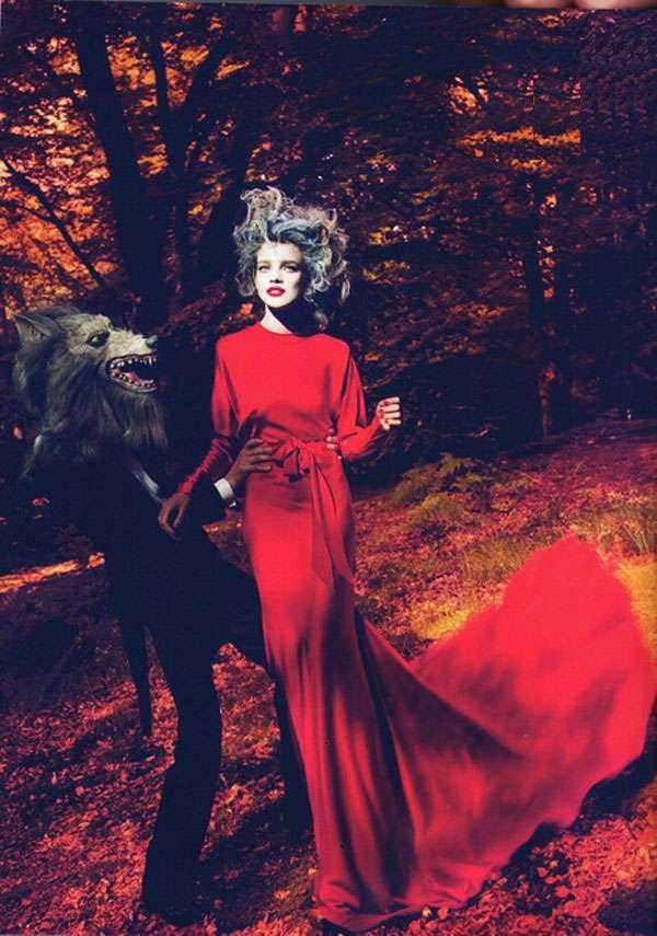 Порасналата Червена Шапчица – героинята в модерен вариант
