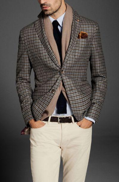 Как да носим връхна дреха с принт каре