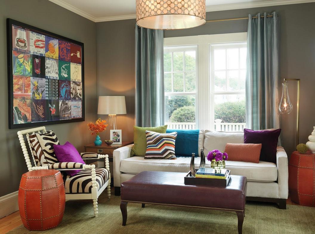 10 лесни начина за съчетаване на цветове и мотиви в интериора