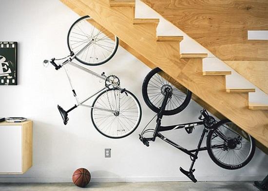 Велосипедът в домашния интериор