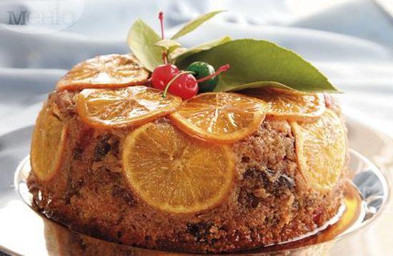 Коледна трапеза: Празничен сладкиш с портокали и уиски A Festive Meal: Holiday With Oranges And Whiskey