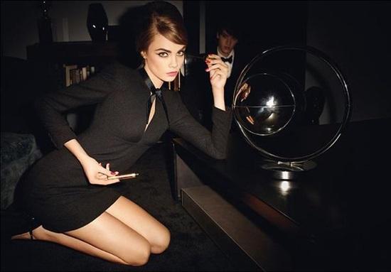 Кара Делевин: любимият модел на 2013 година