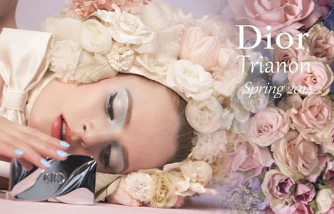 Цветната пролетна градина на Dior