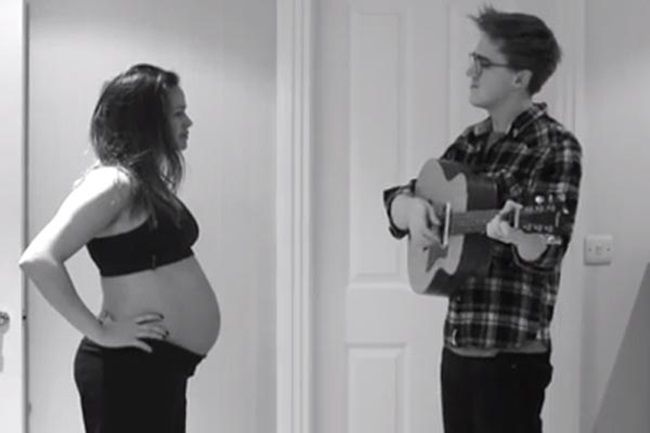 <!--:bg-->Поредното видео, което ще разтопи сърцата ви: за една бременна съпруга с любов<!--:-->