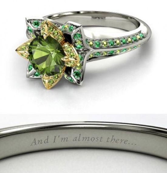 Годежните пръстени, вдъхновени от принцесите на Уолт Дисни