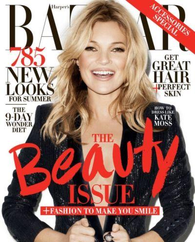 <!--:bg-->Кейт Мос с нова колекция дрехи и лице на две корици през май<!--:-->