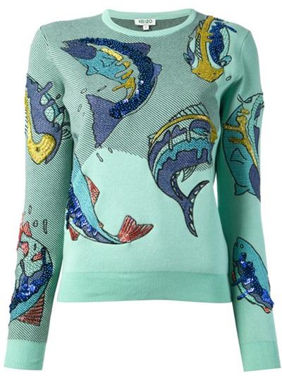 Inside Trend: Рибният пуловер на Kenzo