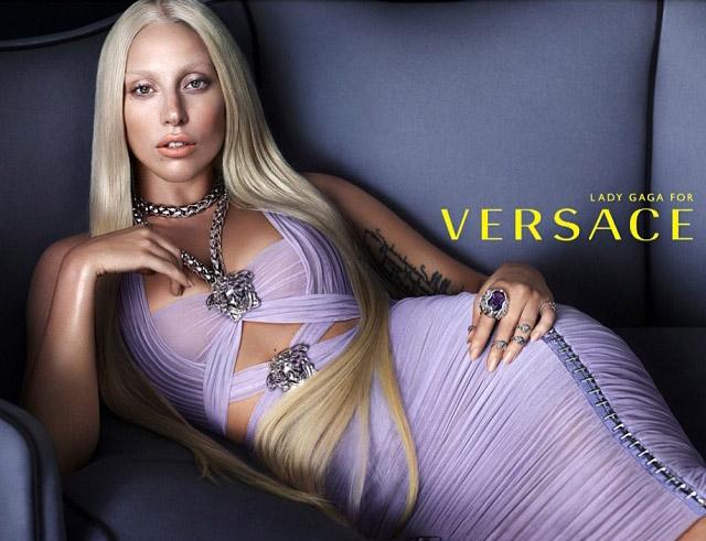 <!--:bg-->Лейди Гага без фотошоп – оригиналните кадри от рекламата на Versace<!--:-->