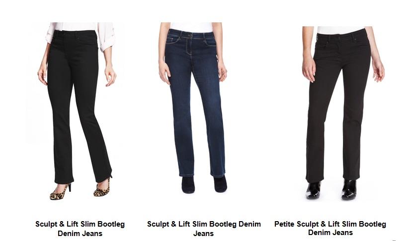 """Новите джинси на M&S, които """"поправят"""" дамската фигура"""