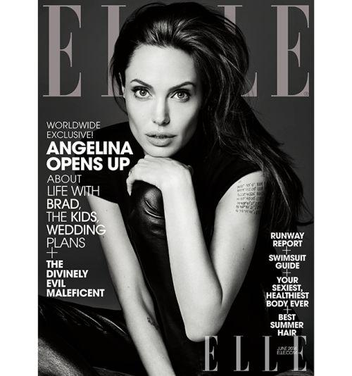 <!--:bg-->Анджелина Джоли с нови откровения за живота си и отношенията с Брад пред ELLE US<!--:-->
