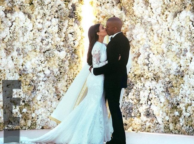<!--:bg-->Сватбата на Ким и Кание в снимки<!--:-->