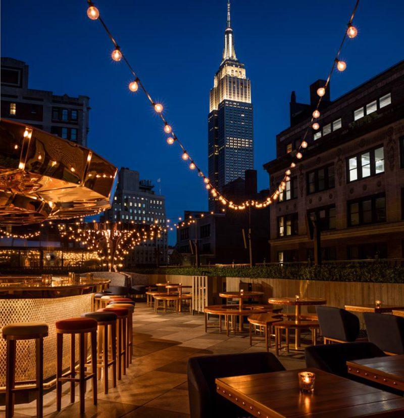 5 бара на върха на Ню Йорк