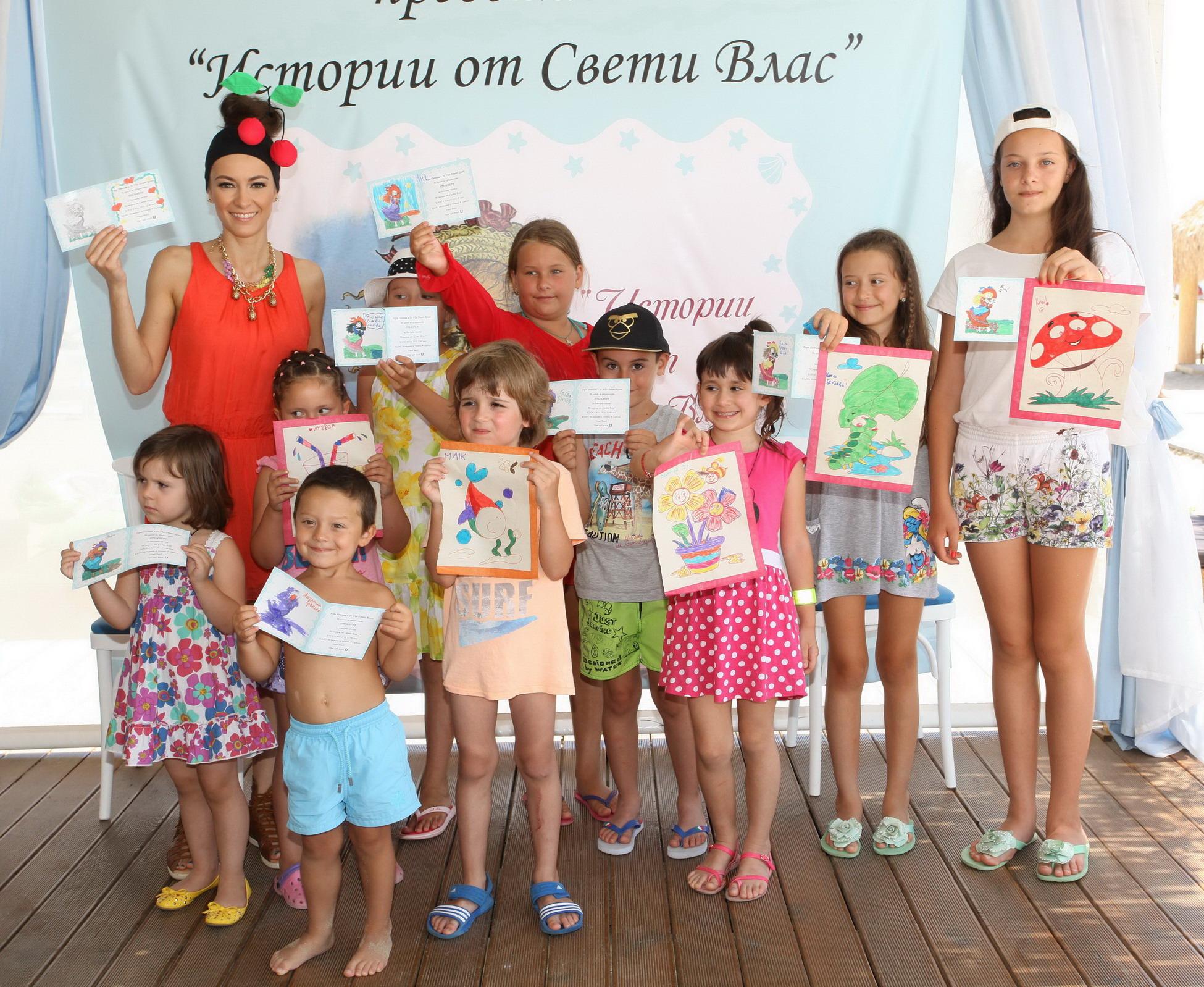 """Гери Дончева представи своите """"Истории от Свети Влас"""" за малчуганите"""