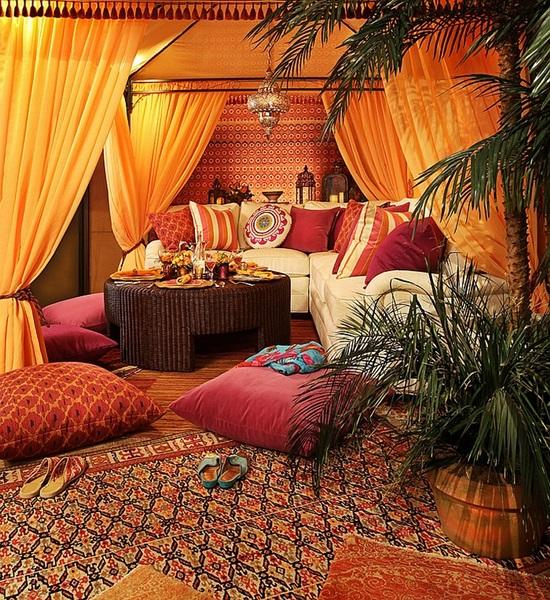 Мароканска феерия от цветове в интериора