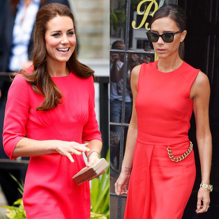 <!--:bg-->Виктория Бекъм подари чифт обувки на херцогиня Катрин<!--:-->