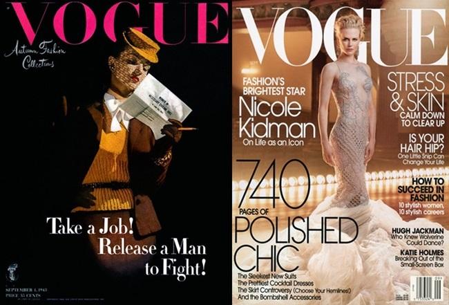 Модна ретроспекция: септемврийският Vogue през годините