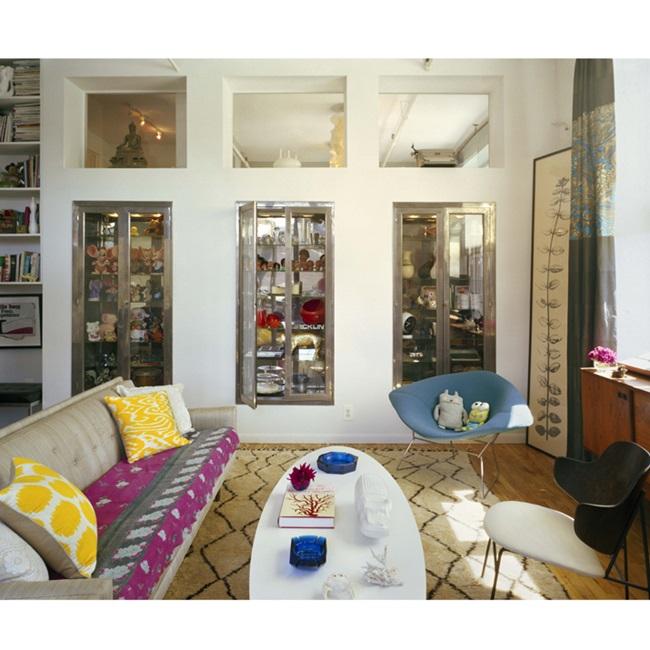 Кари Брадшоу вдъхновява не само гардероба, но и интериора ни