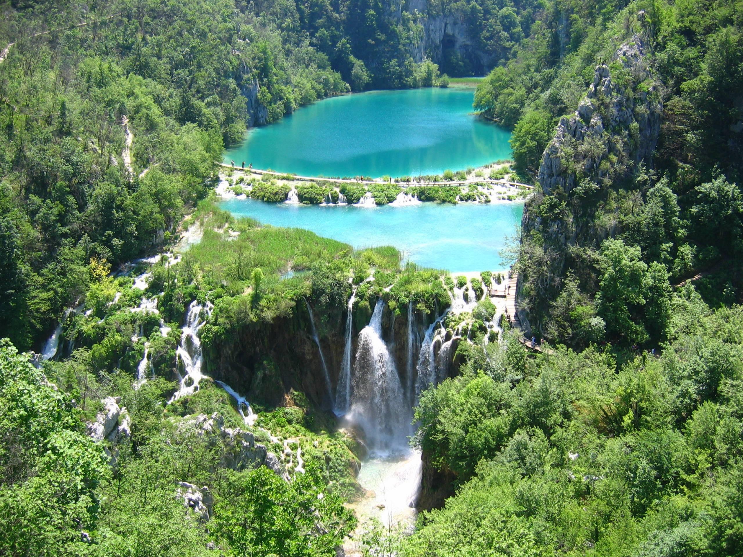 Природният феномен Плитвички езера и водопади в Хърватска
