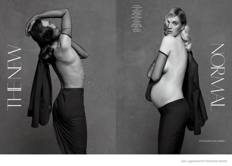 """<!--:bg-->""""Новото нормално"""" – Кончита Вурст като модел, заедно с бременната Ашли Гуд<!--:-->"""