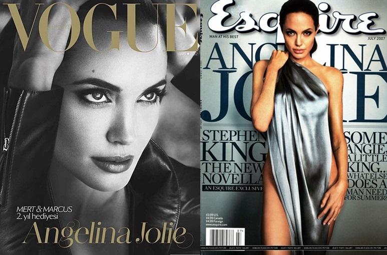 10 корици с Анджелина Джоли, които ни спират дъха