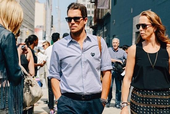 Street Stype Review: Какво носят мъжете по време на седмицата на модата?