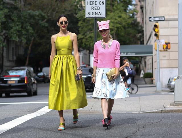 <!--:bg-->Когато модата среща улиците на града. Най-добрите street style моменти от Ню Йорк<!--:-->