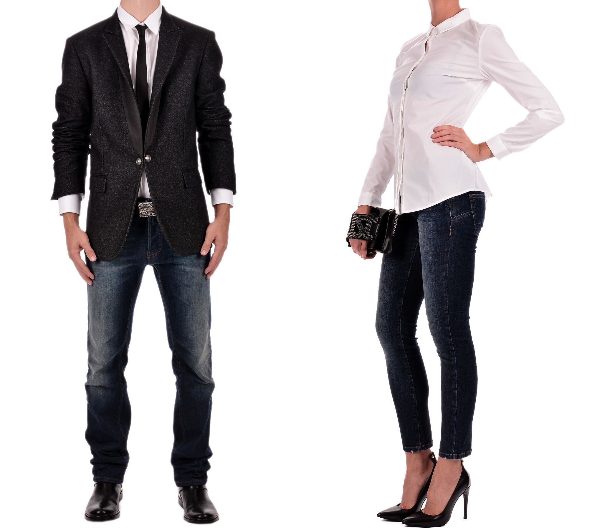 Тя и той се обличат в синхрон