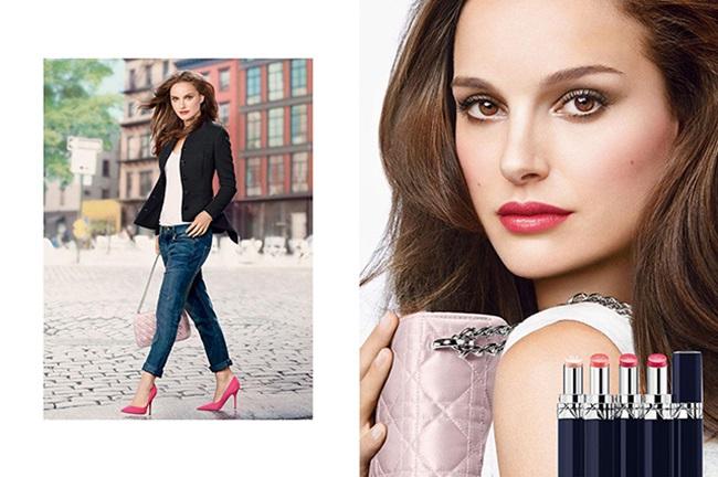 <!--:bg-->Натали Портман е лицето на новата линия на Dior Rouge Baume<!--:-->
