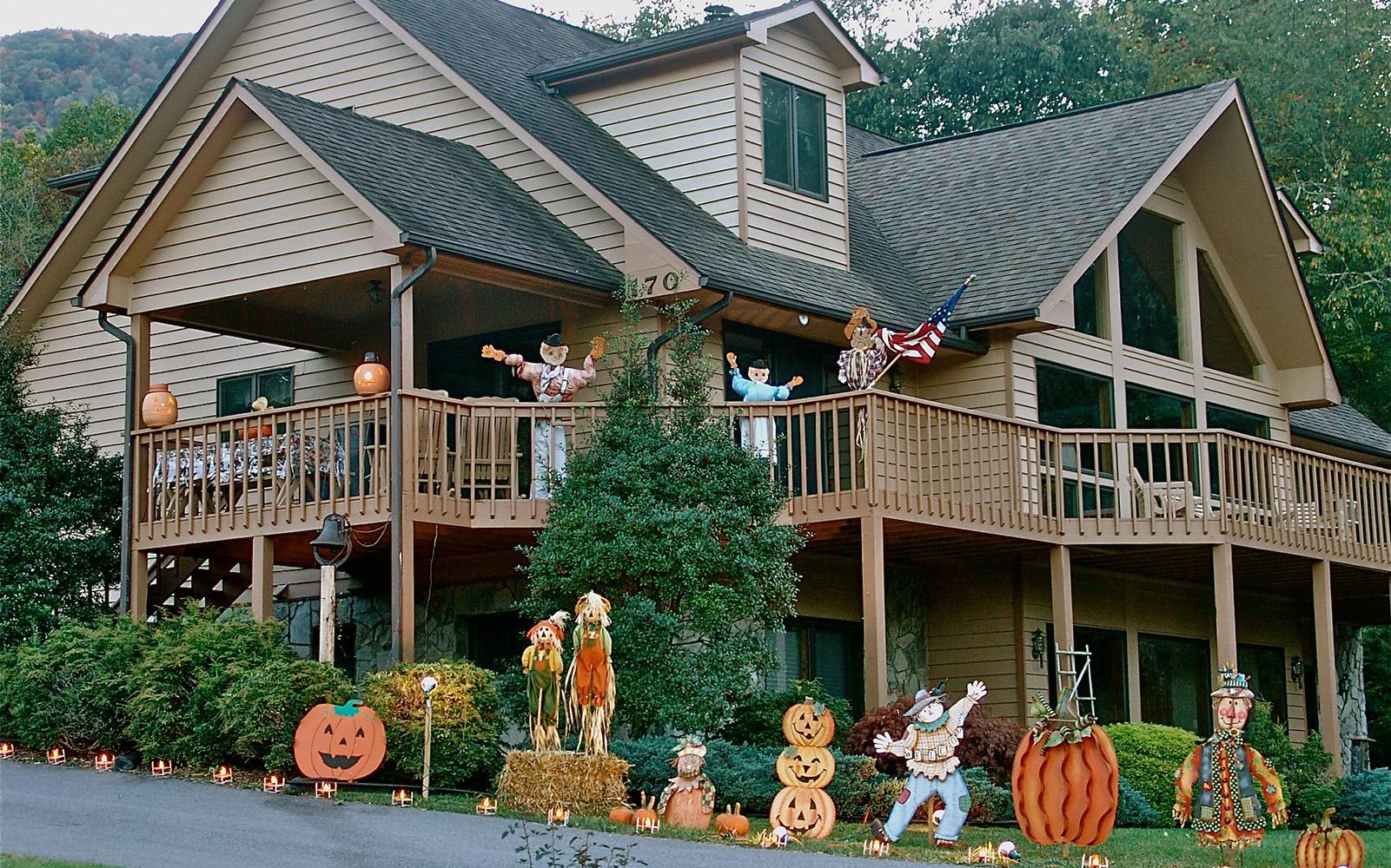 """Как го правят американците? 10-те """"най-стресиращи"""" декорации за Halloween"""