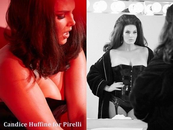 Кандис Хъфин – единственият модел с наднормено тегло в календара на Pirelli. Какво не знаем за нея?