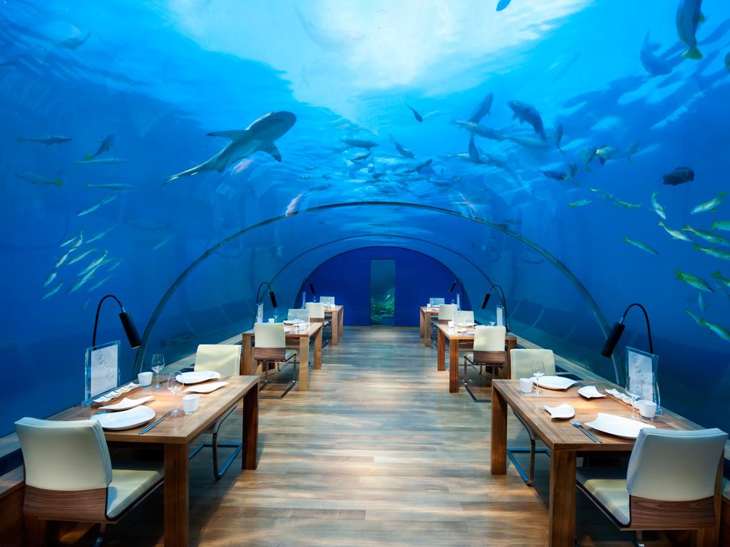 Подводните ресторанти по света
