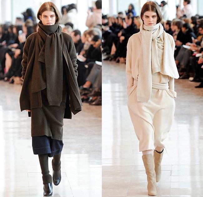 Назаем от модния подиум: пуловер вместо шал