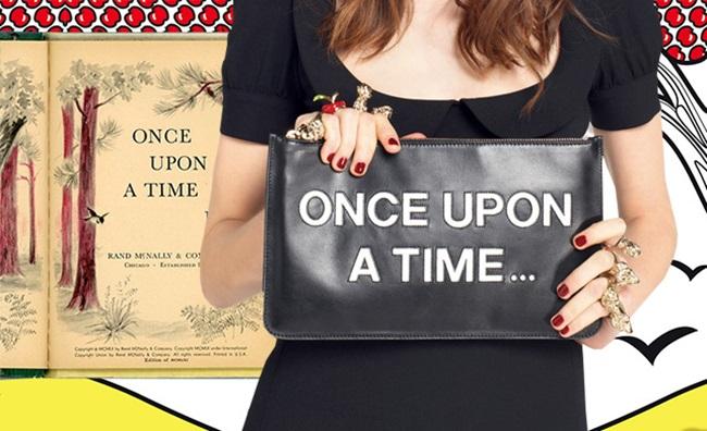 Имало едно време… една история, написана върху чанта
