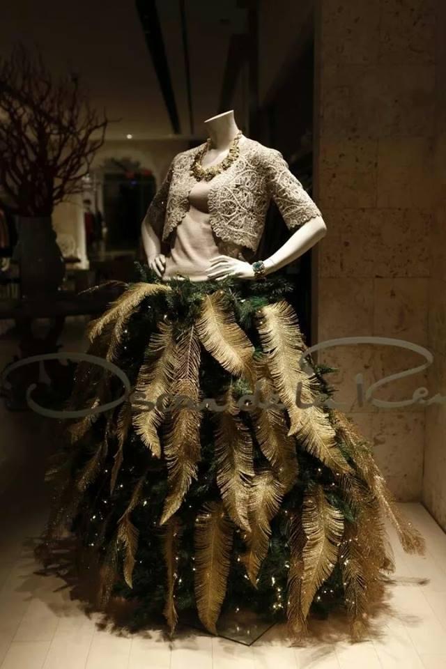 Най-красивите модни елхи из магазините на света