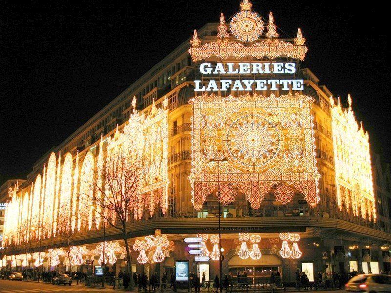 Търговски център, който продава вълшебства: Galeries Lafayette