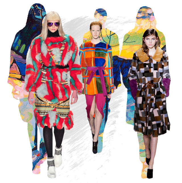 Увлечени по зимата: цветните кожени палта отново ни вълнуват