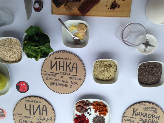 Roo'Bar: За суровите десерти, суперхраните и едно кенгуру
